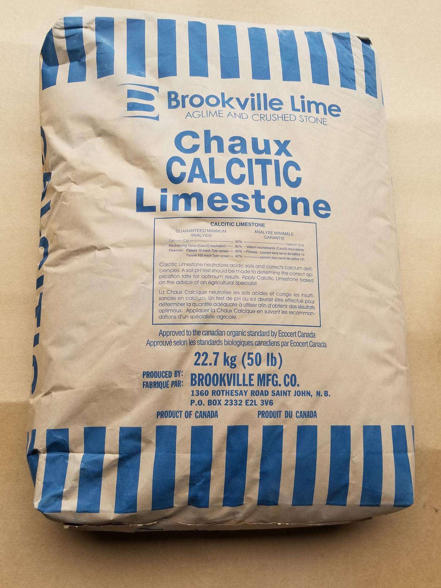 Calcitic Limestone